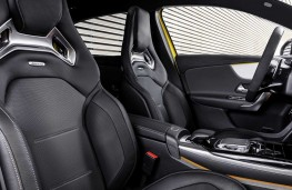 Mercedes - AMG A35 4Matic front seats