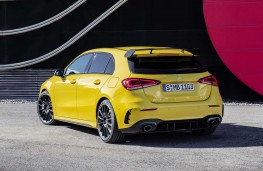 Mercedes - AMG A35 4Matic rear threequarter