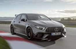 Mercedes-AMG A 45 on track