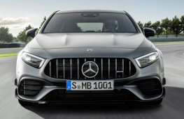 Mercedes-AMG A 45 head-on action