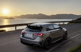 Mercedes-AMG A 45 rear action