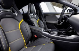 Mercedes-AMG A 45S front seats