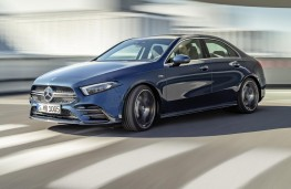 Mercedes-AMG A35 4Matic Saloon front action