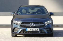 Mercedes-AMG A35 4Matic Saloon head on
