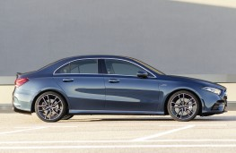 Mercedes-AMG A35 4Matic Saloon side