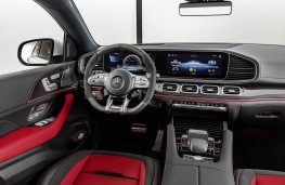 Mercedes-AMG GLE 53 Coupe 2020 cockpit