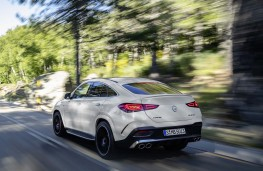 Mercedes-AMG GLE 53 Coupe 2020 rear action