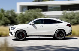 Mercedes-AMG GLE 53 Coupe 2020 side action