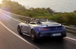 Mercedes-AMG GT R Roadster rear action