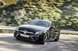 Mercedes AMG C43 Coupe front action