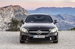 Mercedes AMG C43 Coupe head on