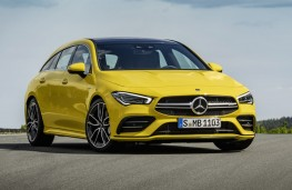 Mercedes-AMG CLA 35 4MATIC Shooting Brake front static
