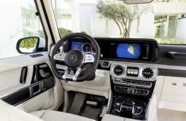 Mercedes-AMG G 63 cockpit