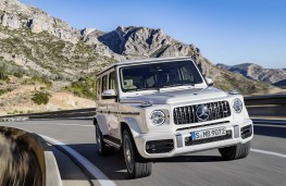 Mercedes-AMG G 63 front action