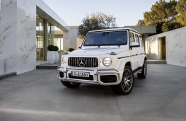 Mercedes-AMG G 63 front static