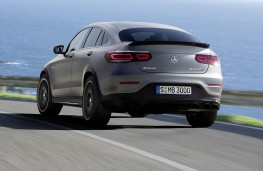 Mercedes-AMG GLC 63 4MATIC+ Coupe rear
