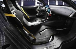 Mercedes AMG Project One concept cockpit