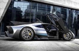 Mercedes AMG Project One concept doors open