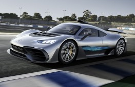 Mercedes AMG Project One concept front action
