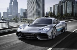 Mercedes AMG Project One concept front threequarter