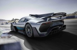 Mercedes AMG Project One concept rear threequarter