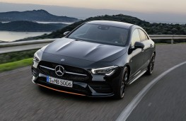 Mercedes-Benz CLA 2019 front action