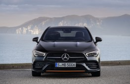 Mercedes-Benz CLA 2019 head-on