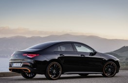 Mercedes-Benz CLA 2019 rear threequarters static