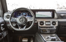 Mercedes-Benz G350 d cockpit