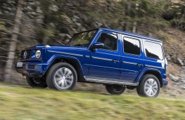 Mercedes-Benz G350 d side