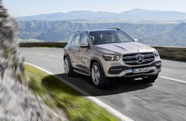 Mercedes-Benz GLE 2019 front action
