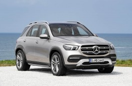 Mercedes-Benz GLE 2019 front threequarter static