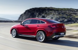 Mercedes-Benz GLE Coupe 2020 rear action