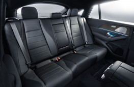 Mercedes-Benz GLE Coupe 2020 rear seats