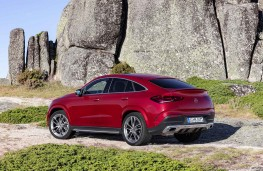Mercedes-Benz GLE Coupe 2020 rear static