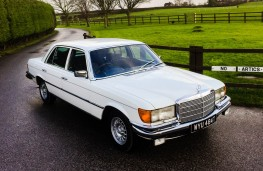 Mercedes-Benz 450 SEL, 1977, once owned by Barry Gibb