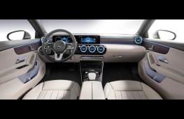 Mercedes-Benz A-Class, dashboard