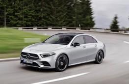 Mercedes-Benz A-Class, front action