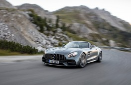 Mercedes-Benz AMG GT Roadster action