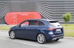 Mercedes-Benz B-Class, rear action