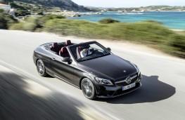 Mercedes-Benz C300 Cabriolet action