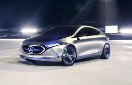 Mercedes-Benz Concept EQA front