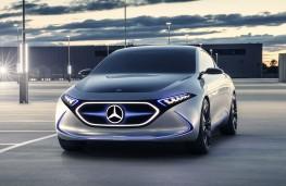 Mercedes-Benz Concept EQA head-on