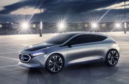 Mercedes-Benz Concept EQA profile