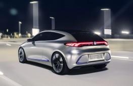 Mercedes-Benz Concept EQA rear