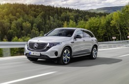 Mercedes-Benz EQC, front action