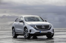 Mercedes-Benz EQC, front static