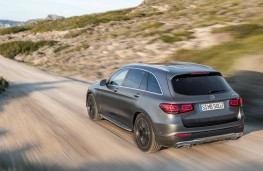 Mercedes-Benz GLC SUV 2019 rear off road
