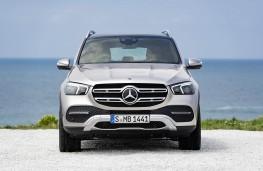Mercedes-Benz GLE 2019 head on static