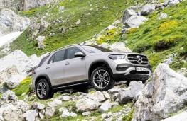 Mercedes-Benz GLE 2019 off road